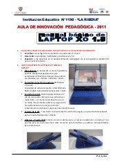 Manual basico laptop xo 1.5 secunda...