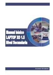 Manual Laptop Secundaria XO 1.5 azu...