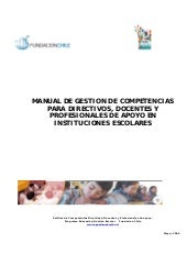 Manual competencias gestion
