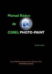 Manual corel photopaint