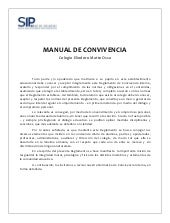 Manual de convivencia interna