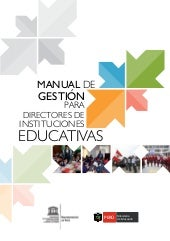 Manual de gestion para directores m...