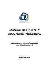 Manual de higuiene y seguridad indu...