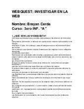 Manual de la webques