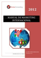 Manual de Marketing internacional