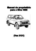 Manual do proprietário do Lada Niva