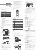 Manual do Telefone Sem Fio TS 40 ID Intelbras