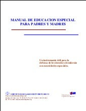 Manual educacion especial