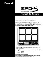 Manual español roland spd s