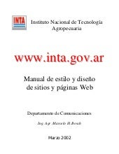 Manual estilo web