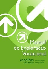 Manual exploracao vocacional