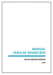 Manual Feria de Exhibición