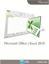 Manual microsoft office excel 2010