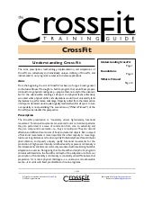 Manual nivel 4 cross fit