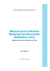 Manual para la gestión municipal de...