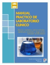 Manual practico de laboratorio clinico