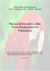 Manual Psitacideos (Papagaios)