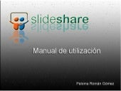 Manual de utilización de Slideshare
