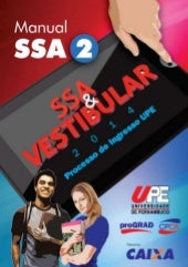 VESTIBULAR UPE - Manual SSA 2014_fa...