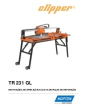 Manual Clipper TR 231 GL Português