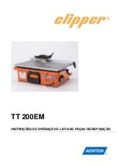 Manual Clipper TT 200 EM