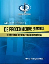 Manual unico de procesimientos en m...