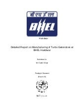 BHEL Trainning Report