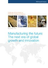 Manufacturing The Future -  McKinsey