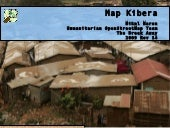 Map Kibera at the BreakAway, Nairob...