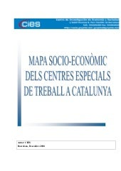 CIES, Mapa socio economic dels cent...