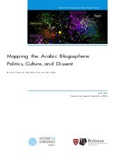 Mapping The Arabic Blogosphere