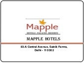 Mapple Hotels India