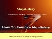 Remove MapsGalaxy