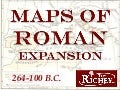 Maps of Roman Expansion (264-100 B.C.)