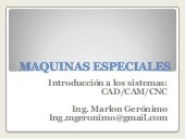 Maquinas especiales introduccion a ...