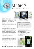 Marble Virtual Globe 1.3 Factsheet (English)