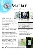 Marble Virtual Globe 1.3 Factsheet (Spanish)