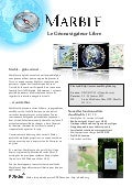 Marble Virtual Globe 1.3 Factsheet (French)
