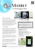 Marble Virtual Globe 1.4 Factsheet (French)