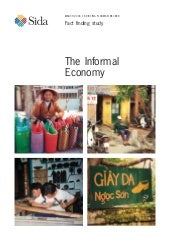 The Informal Economy: Fact-finding ...