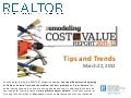 Cost vs. Value Webinar Slides