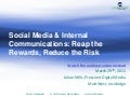 Social Media & Internal Communications: Reap the Rewards, Reduce the Risk