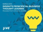 Insights from Social Business Thoug...