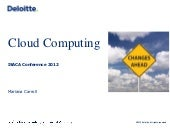 cloud computing - isaca conference ...