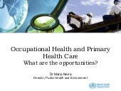 Occupational Health and Primary Hea...