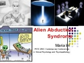 Alien Abduction Syndrome