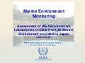 Fukushima Marine Environment Monitoring - 5 May 2011