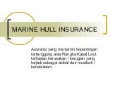 Marine hull insurance upload