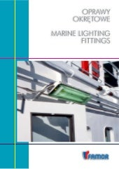 Marine lighting fitting
