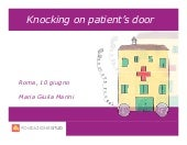Knocking on patient's door